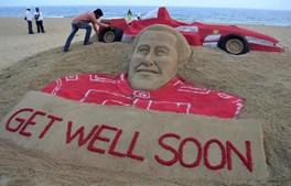 O heptacampeão mundial de F1 foi internado em coma a 29 de dezembro de 2013