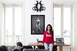 A portuguesa Ana Dias é fotógrafa da 'PlayBoy'