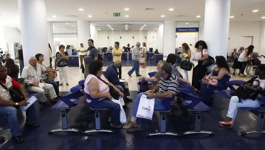 Salas de espera no hospitais