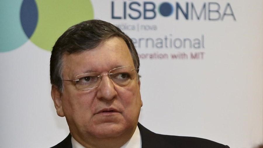 O presidente cessante da Comissão Europeia e ex-primeiro-ministro Durão Barroso