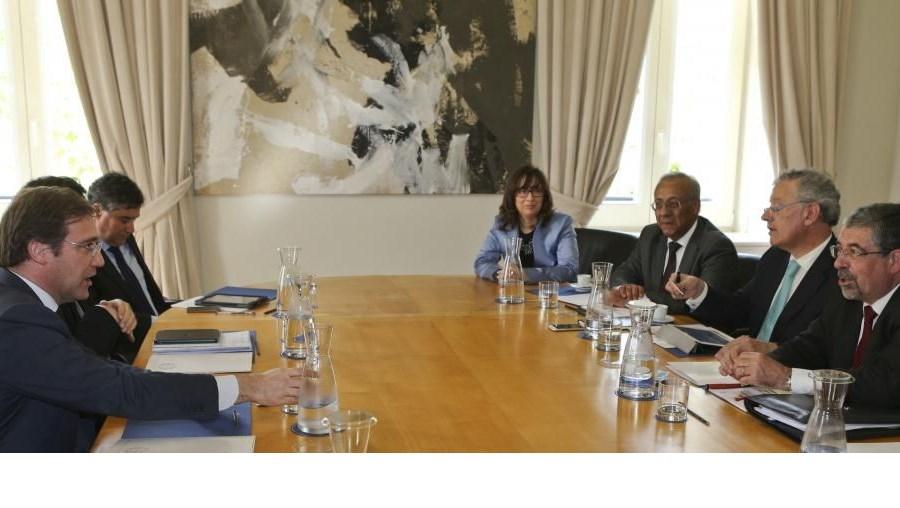 Associação Nacional de Municípios Portugueses reunida com o primeiro-ministro