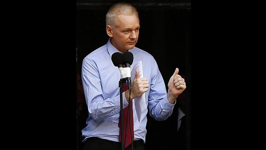 O ativista Julian Assange