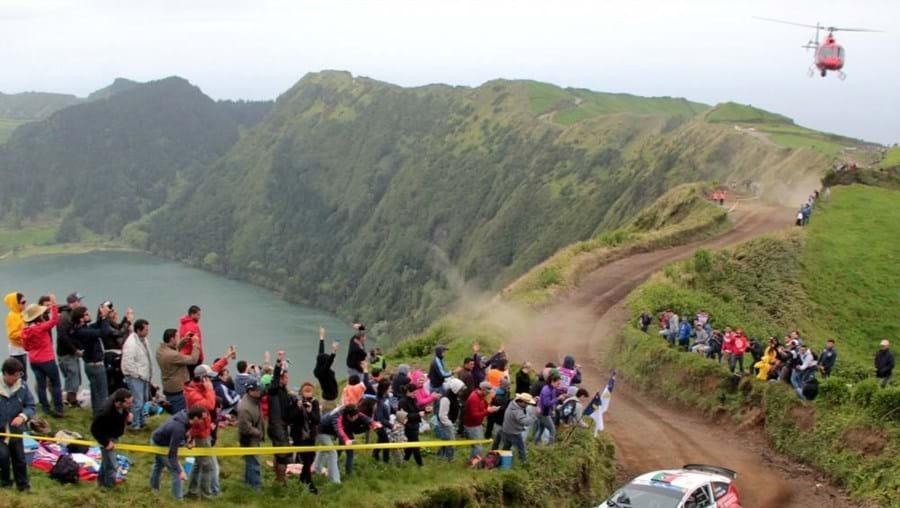 Sata Rallye Açores em 2014