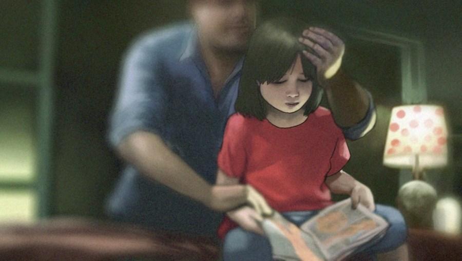 O padrasto abusador está preso preventivamente