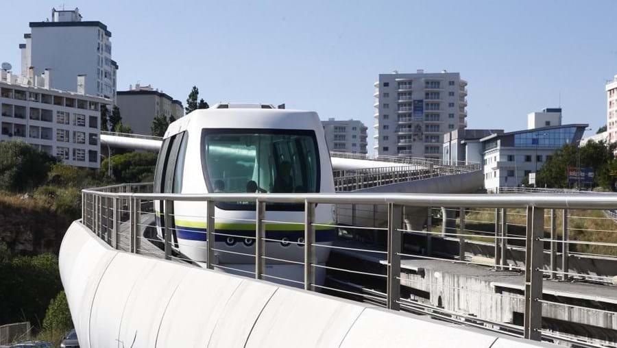 O projeto do metro de superfície custou 20 milhões de euros