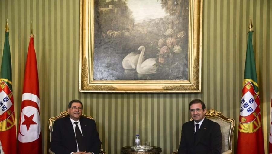 Chefe do Governo tunisino está em Lisboa à margem da III Cimeira Luso-Tunisina