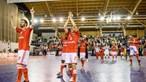 Benfica derrota Sporting no 1.º jogo da final de futsal