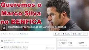 Benfica: manifestação por Marco Silva