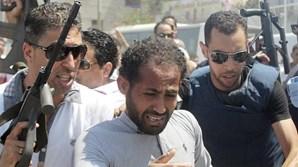 Um dos suspeitos do atentado foi capturado pela polícia