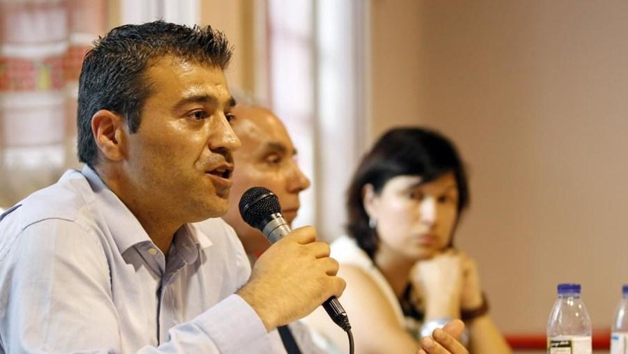 O presidente da APG César Nogueira