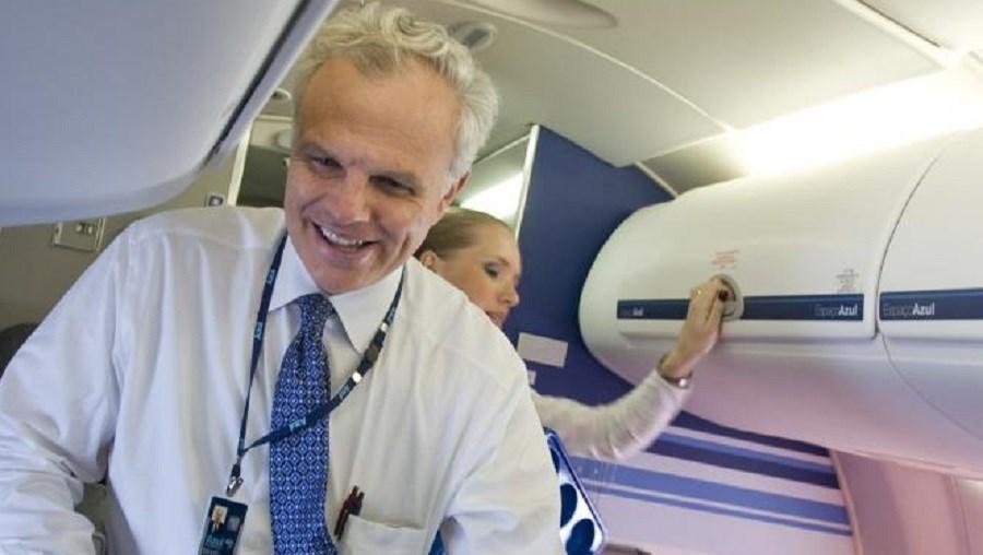 O empresário David Neeleman é dono da companhia aérea Azul