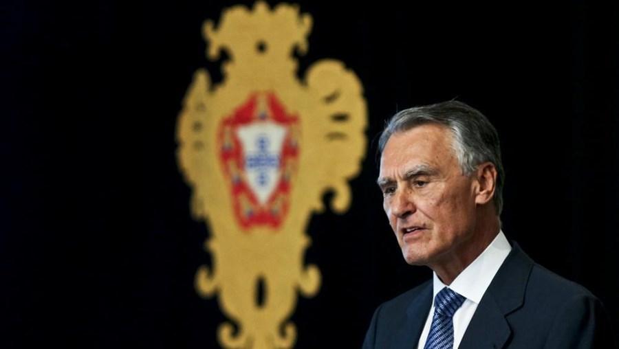 O presidente da República Aníbal Cavaco Silva
