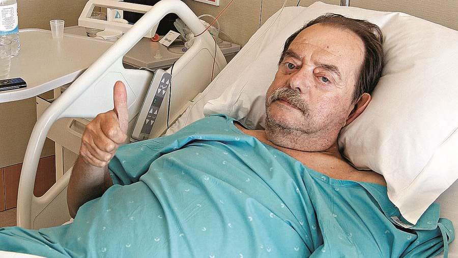 Artur Correia, de 65 anos, mostrou-se confiante numa recuperação rápida