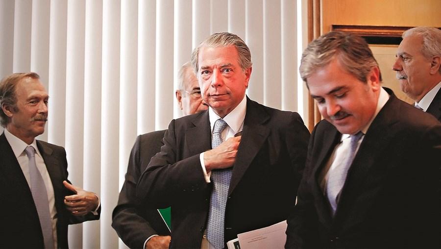 Ricardo Salgado (ao centro), Amílcar Morais Pires (à dir.) e Rui Silveira (à esq.) são alguns dos ex-gestores que têm contas congeladas