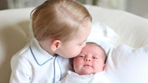 Princesa britânica batizada hoje