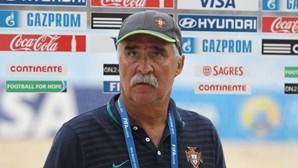 Selecionador luso de futebol de praia entre os nomeados para melhor treinador do mundo
