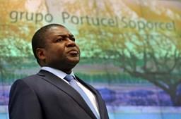 O Presidente moçambicano chega a Paris logo após uma visita de Estado a Portugal