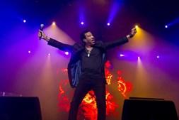 O cantor norte-americano Lionel Richie atua em Oeiras