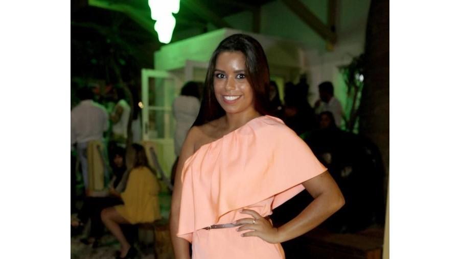 Diana Pinto tem 24 anos e é filha de Carla Baía e João Pinto
