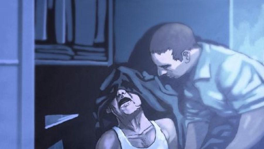 O homicida deu várias pancadas na cabeça do procurador da senhoria, com um martelo e com um haltere em ferro