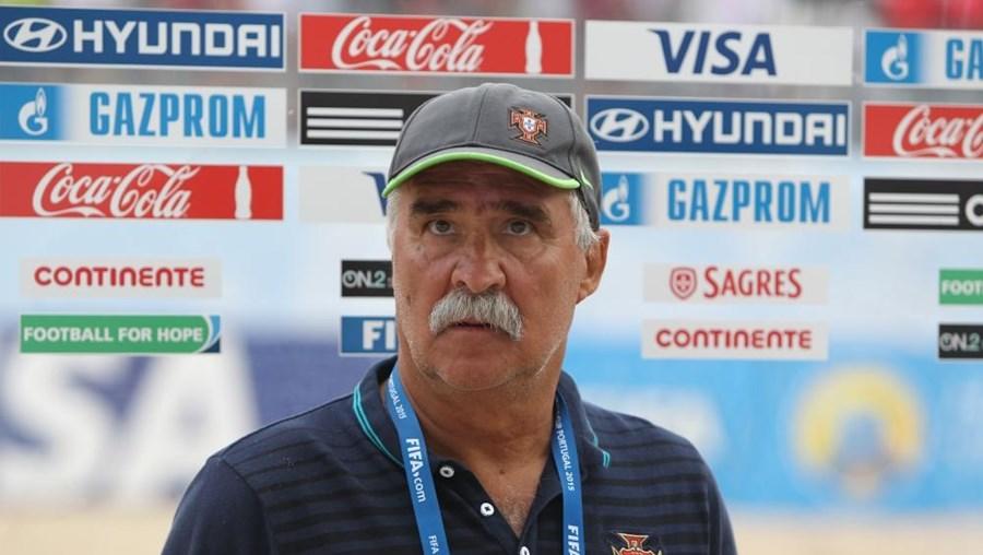 Mário Narciso, selecionador nacional de futebol de praia