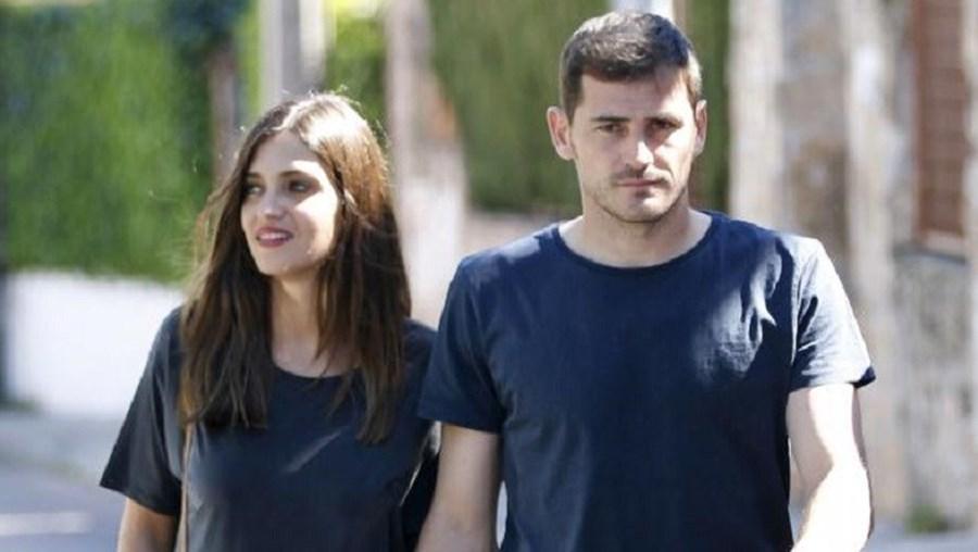 Sara e Iker mostram- se felizes na sua  nova vida