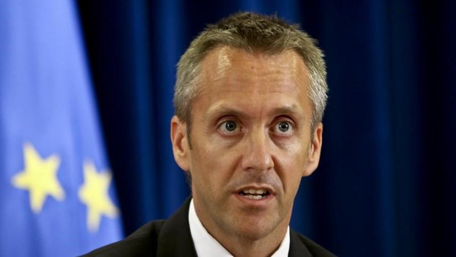 Sérgio Monteiro, secretário de Estado das Infraestruturas, Transportes e Comunicações