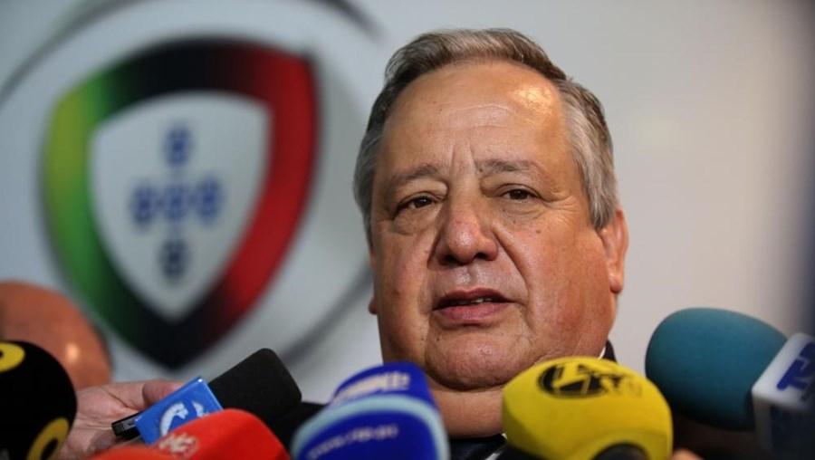 Luís Duque, presidente da Liga Portuguesa de Futebol Profissional