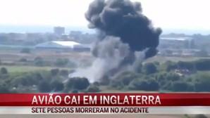 Vídeo mostra queda de avião