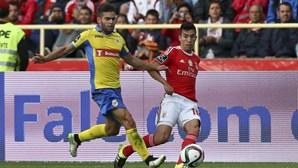 As melhores fotos do Arouca-Benfica