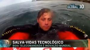 Boia salva-vidas telecomandada