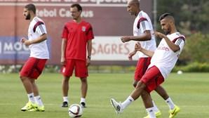 Benfica empresta Mukhtar ao Salzburgo