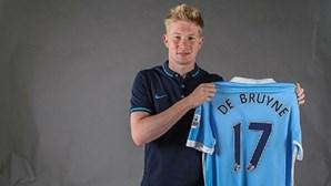 Kevin De Bruyne é reforço do Manchester City