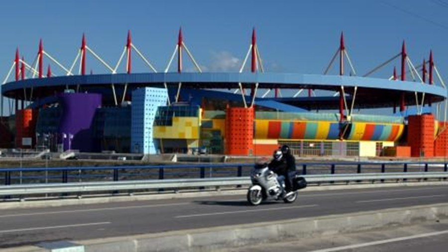 Vista geral do Estádio Municipal de Aveiro