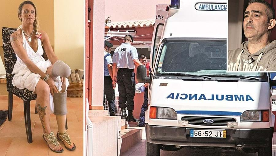 Anabela Pereira ficou sem uma perna em 2012. Augusto Borges matou-a ontem com um lençol