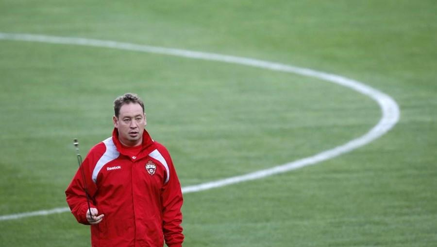 Slutsky acumulará as funções com as de treinador do CSKA de Moscovo