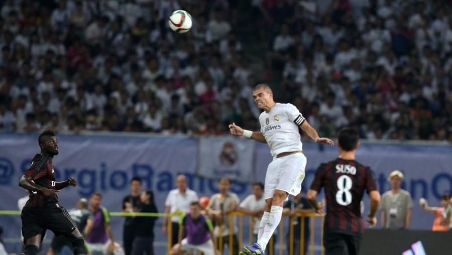 O Real Madrid espera que Pepe esteja disponível para o começo da Liga espanhola, no dia 23 de agosto