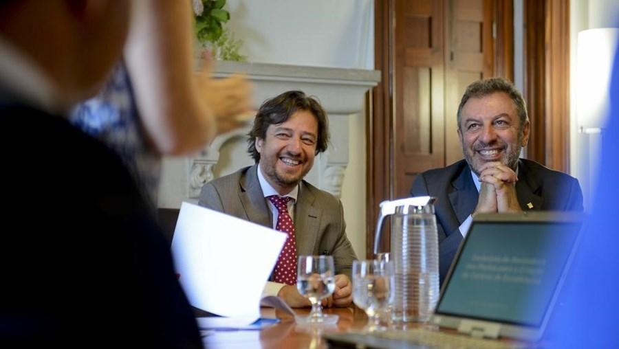 Poiares Maduro e Nuno Crato em Coimbra