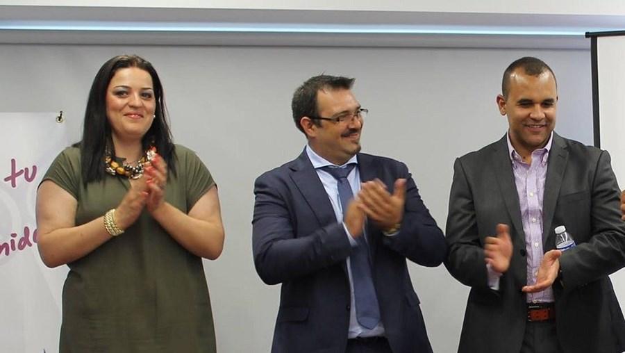 Cristina Vieira, Rui Salvador e Edson Silva formam a cúpula da LIbertaGia. Estão em parte incerta
