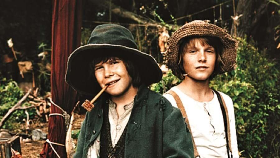 Huck Finn e Tom Sawyer