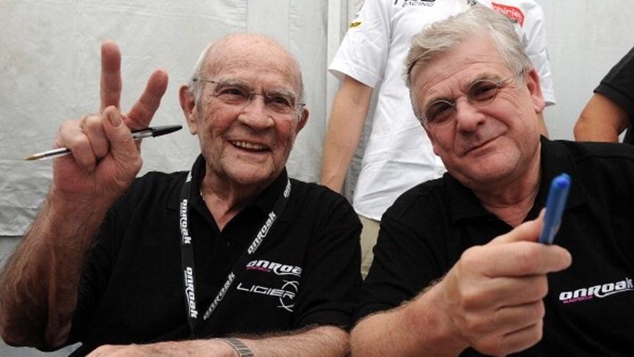 Guy Ligier com o presidente da ONROAK
