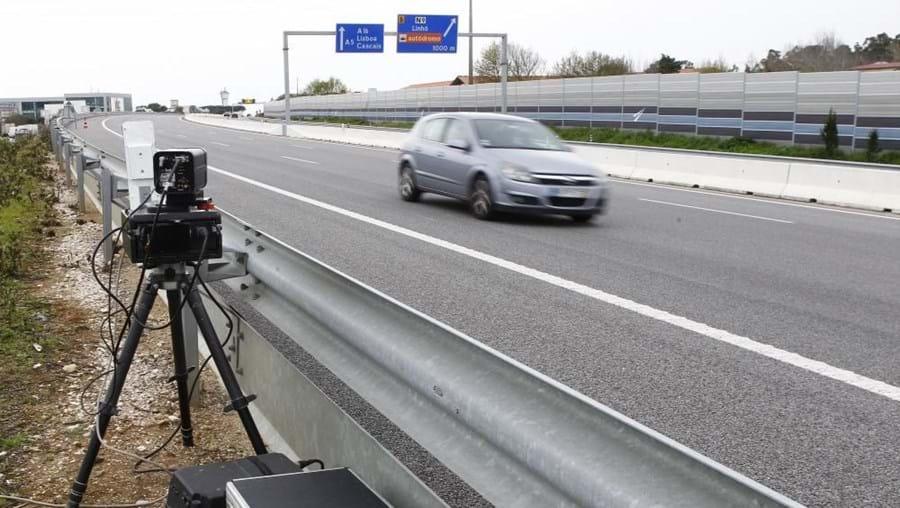 Esta operação de controlo de velocidade decorreu em simultâneo em vários países europeus