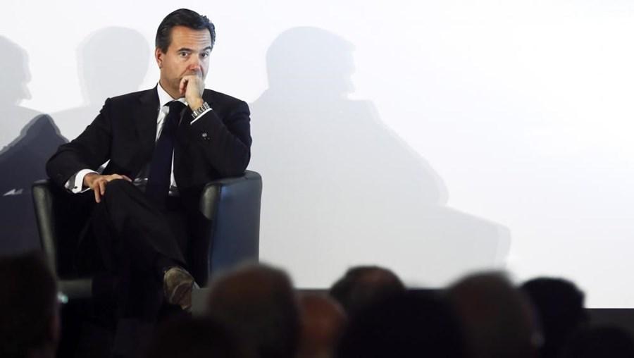 O presidente do Lloyds Bank, António Horta Osório