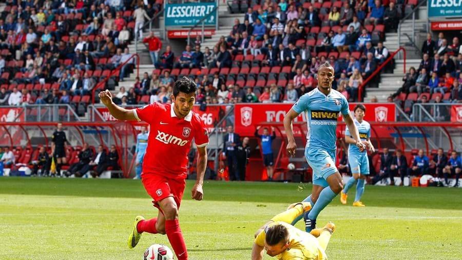 O internacional mexicano Jesús Corona tem 22 anos e é jogador do Twente, da Holanda