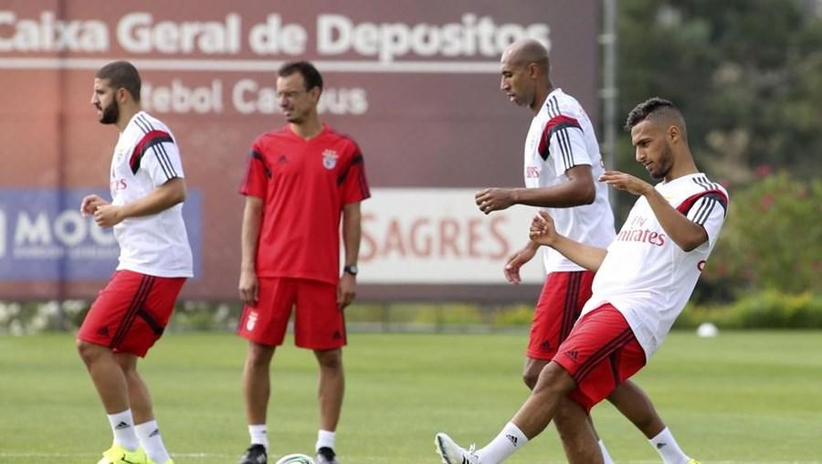 No Benfica, o médio não foi praticamente utilizado na última época