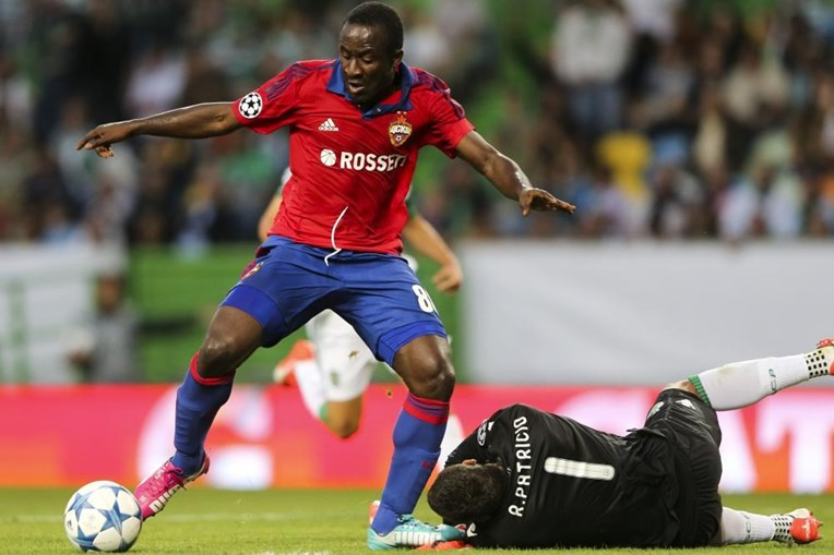 Doumbia foi autor do golo do CSKA Moscovo