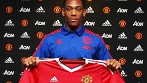 Anthony Martial confirmado no Manchester United