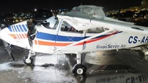 Recuperada aeronave que caiu no Tejo