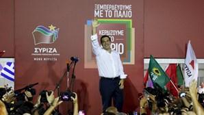 Resultados oficiais dão vitória ao Syriza