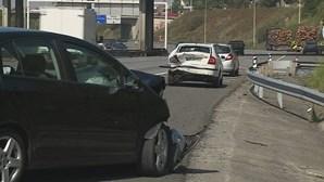 Militares da GNR feridos em acidente na VCI